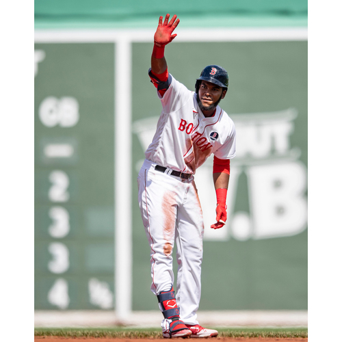 Photo of Red Sox Foundation Patriots' Day - Franchy Cordero Authenticated Game-Used Jersey