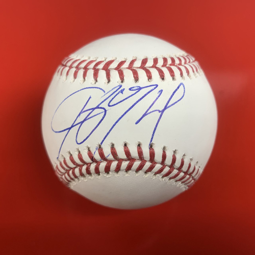 Photo of Ketel Marte Autographed Baseball
