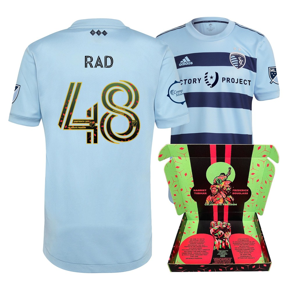 Kaveh Rad Sporting KC Player-Issued & Signed