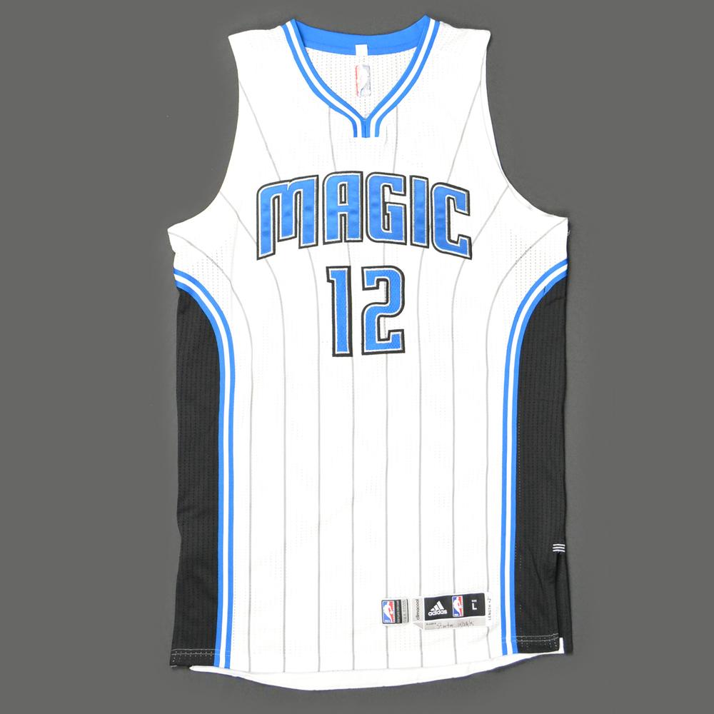 the latest 466e5 2b598 Tobias Harris - Orlando Magic - Game-Worn Jersey - Kia NBA ...