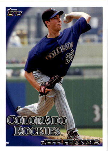 Photo of 2010 Topps #406 Jeff Francis