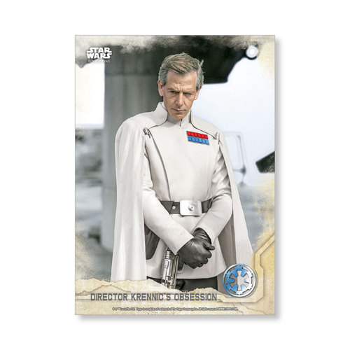 Director Krennic's Obsession 2016 Star Wars Rogue One Series One Base Poster - # to 99