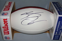 NFL - REDSKINS SAMAJE PERINE SIGNED PANEL BALL