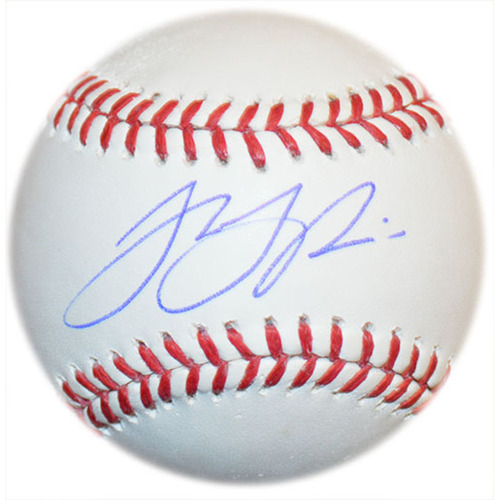 Photo of T.J. Rivera - Autographed Major League Baseball
