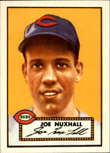 Photo of 1983 Topps 1952 Reprint #406 Joe Nuxhall
