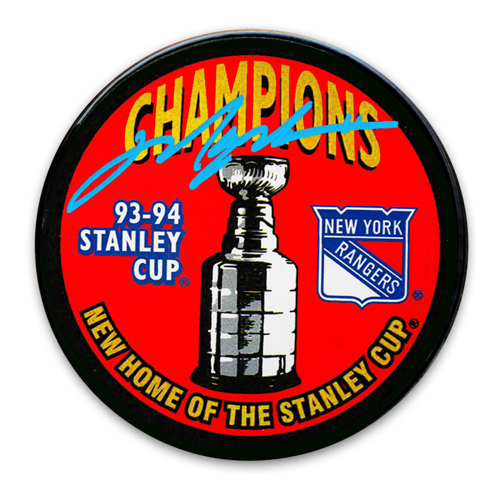 Mark Messier New York Rangers 1994 Stanley Cup Champions Autographed Puck