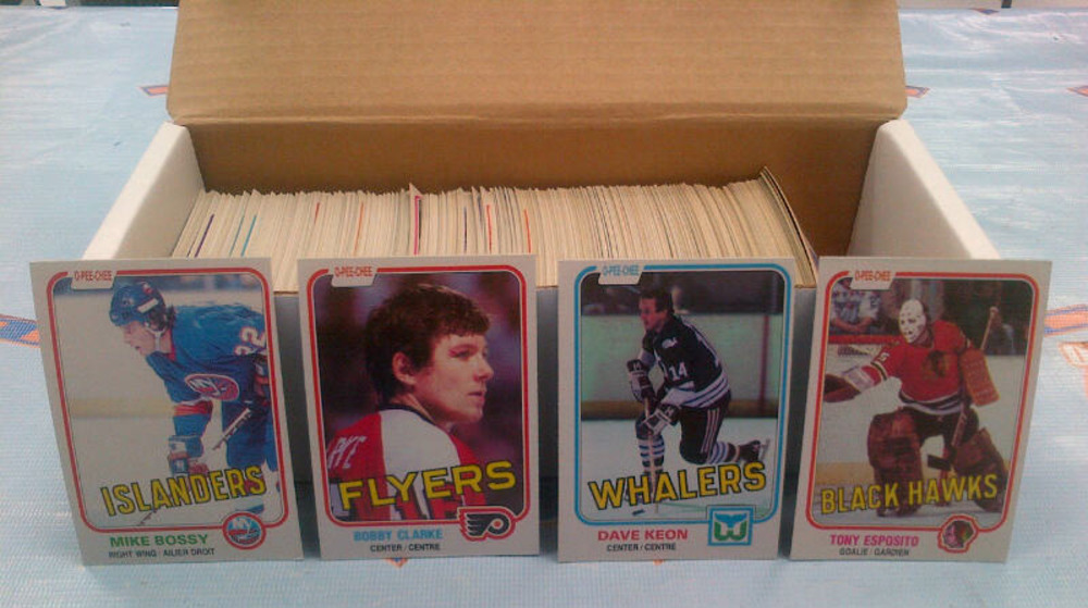 1981-82 OPC Partial Starter Set *OVER 300 NEAR MINT HOCKEY CARDS* *T.ESPOSITO, KEON, BOURQUE, CLARKE ETC*