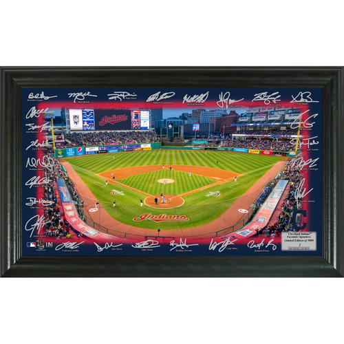 Photo of Cleveland Indians 2018 Signature Field