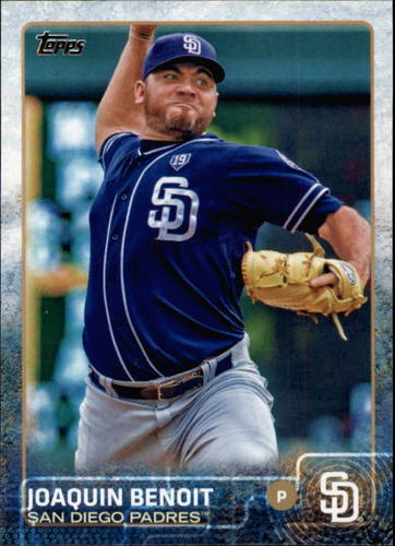 Photo of 2015 Topps #482 Joaquin Benoit