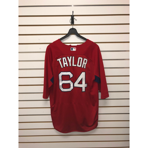 Photo of Ben Taylor Team-Issued Home Batting Practice Jersey