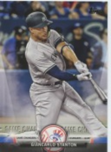 Photo of 2018 Topps Update Salute #S42 Giancarlo Stanton