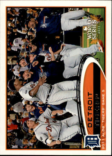 Photo of 2012 Topps #32 Detroit Tigers PS HL