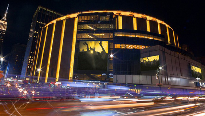 CONCERTS AT MADISON SQUARE GARDEN