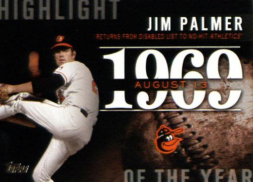 Photo of 2015 Topps Highlight of the Year #H47 Jim Palmer