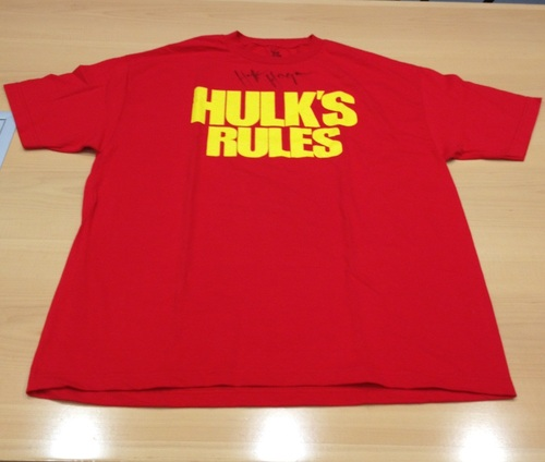 hulk hogan rules t shirt