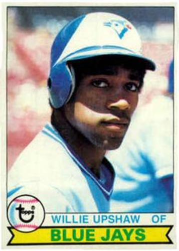 Photo of 1979 Topps #341 Willie Upshaw RC