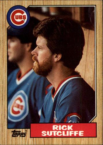 Photo of 1987 Topps #142 Rick Sutcliffe