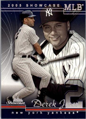 Photo of 2005 Fleer Showcase #39 Derek Jeter
