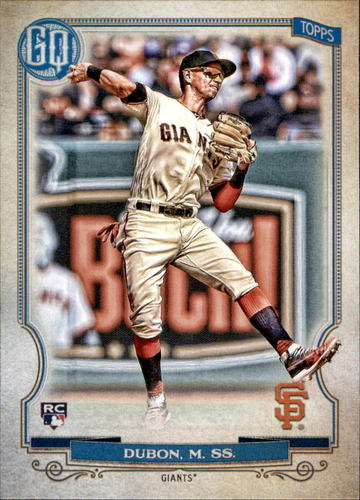 Photo of 2020 Topps Gypsy Queen #268 Mauricio Dubon RC