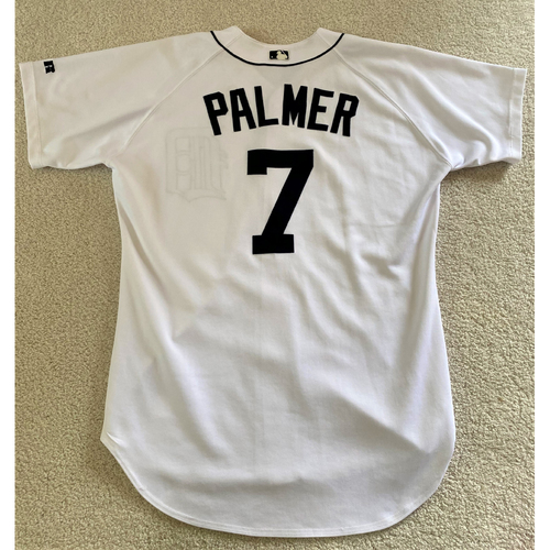 Photo of Dean Palmer #7 Detroit Tigers Home Jersey (NOT MLB AUTHENTICATED)