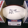 NFL - PANTHERS WR DJ MOORE SIGNED PANEL BALL