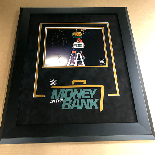 Photo of Asuka SIGNED Money In The Bank 2020 Champion's Edition Frame (#1 of 5)