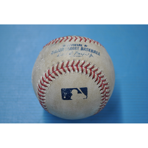Photo of Game-Used Baseball - CIN at PIT - 9/5/2020 - Pitcher - Trevor Williams, Batter - Eugenio Suarez, Top 6, Home Run