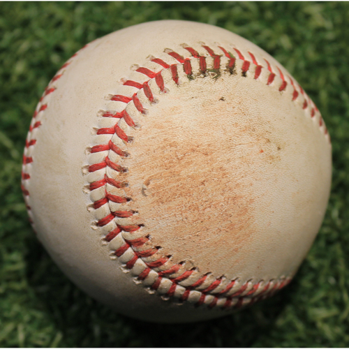 Photo of Game-Used Baseball: Willson Contreras 403rd Career Hit (CHC @ KC 8/5/20)