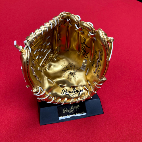 Photo of Kolten Wong Autographed Mini Gold Glove