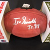 NFL - Vikings Irv Smith Jr. Signed Authentic Football
