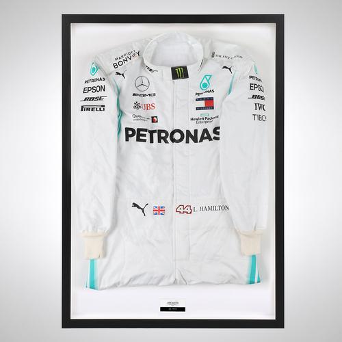 Photo of Lewis Hamilton 2019 Official Replica Race Suit