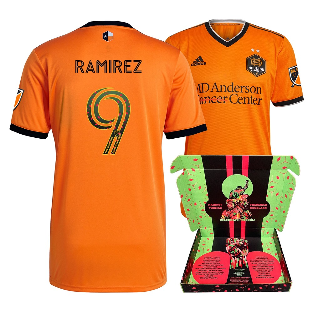 Christian Ramirez Houston Dynamo FC Player-Issued & Signed