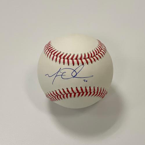 Photo of Matt Olson Autographed Baseball