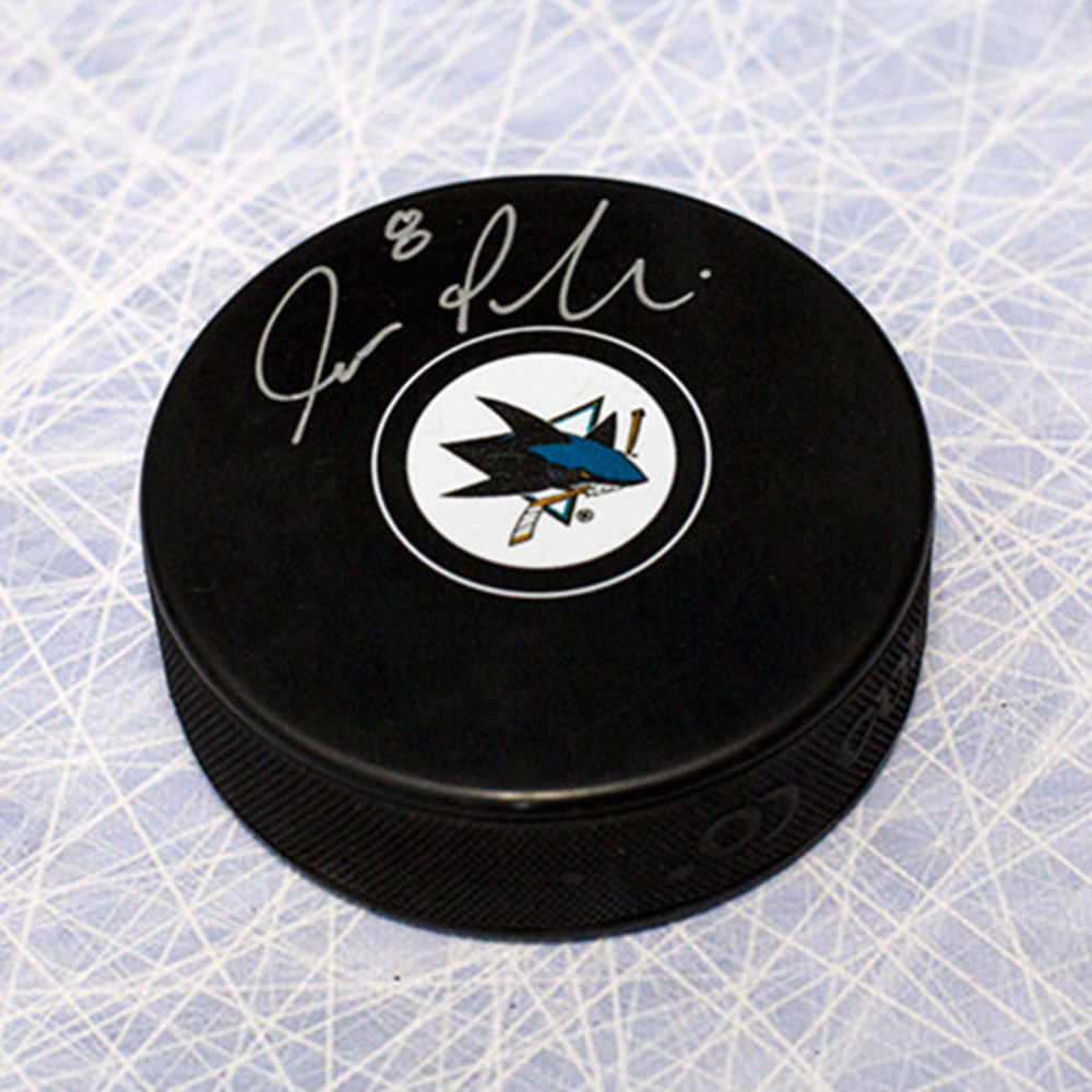 Joe Pavelski San Jose Sharks Autographed Hockey Puck