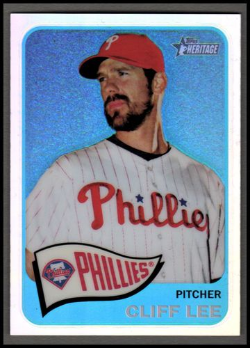 Photo of 2014 Topps Heritage Chrome Refractors #20 Cliff Lee