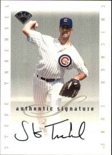 Photo of 1996 Leaf Signature Extended Autographs #203 Steve Trachsel
