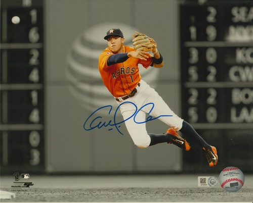 Carlos Correa Autographed 8x10 Photo