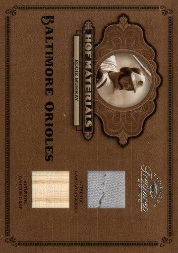 Photo of 2004 Timeless Treasures HOF Materials Combos Bat-Jersey #10 Eddie Murray/50