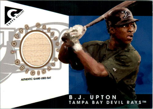 Photo of 2005 Topps Gallery Originals Relics #BU B.J. Upton Bat