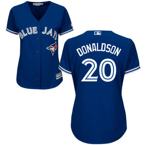 Toronto Blue Jays Women's Josh Donaldson Replica Alternate Jersey by Majestic