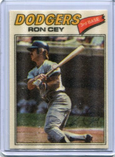 Photo of 1977 Topps Cloth Stickers #14 Ron Cey