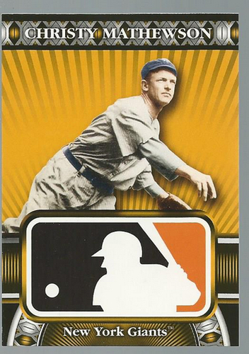 Photo of 2010 Topps Logoman HTA #46 Christy Mathewson
