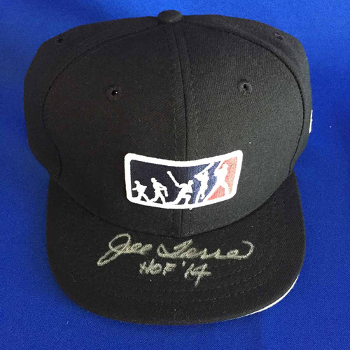 Photo of UMPS CARE AUCTION: Joe Torre HOF Signed MLB Players Weekend Plate Cap - Size 7 1/8 - Not MLB Authenticated