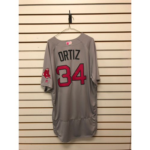 Photo of David Ortiz Team Issued 2016 Mother's Day Road Jersey