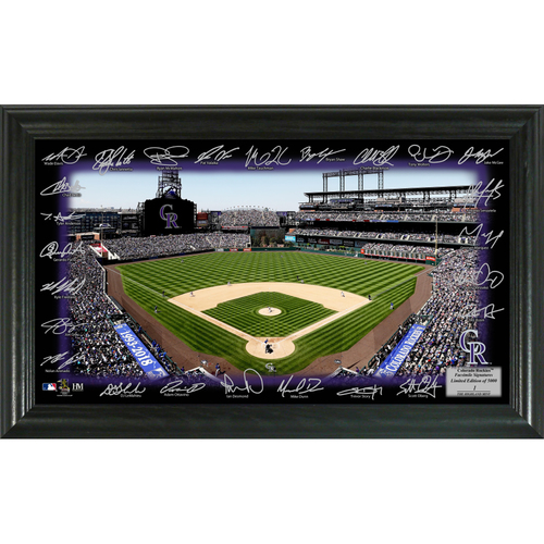 Photo of Colorado Rockies 2018 Signature Field