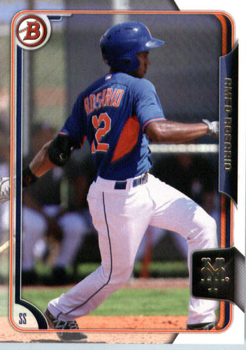 Photo of 2015 Bowman Draft #163 Amed Rosario