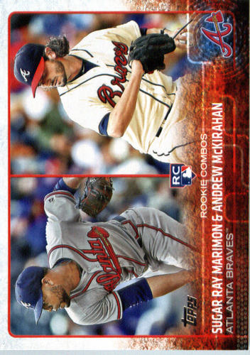 Photo of 2015 Topps Update #US110 Andrew McKirahan RC/Sugar Ray Marimon RC
