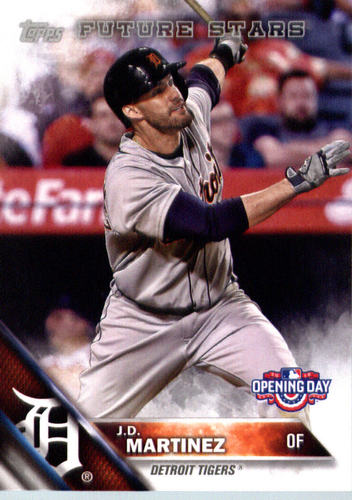 Photo of 2016 Topps Opening Day #OD89 J.D. Martinez