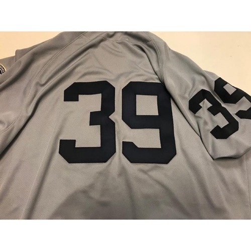 Photo of Game-Used 1968 World Series 50th Anniversary Jersey: Ramon Santiago