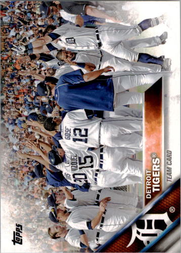 Photo of 2016 Topps #297 Detroit Tigers